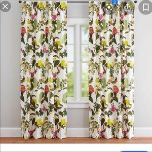 Pottery barn curtains Ashley Beards 50x 84 inches
